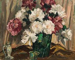 William Lester Stevens (American, 1888-1969)      Peonies