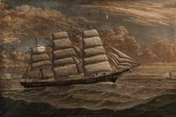 Percy A. Sanborn (American, 1849-1929)      Ship Leonara