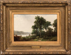 David Johnson (American, 1827-1908)      Lake George