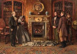 Walter Dendy Sadler (British, 1854-1923)      The Introduction
