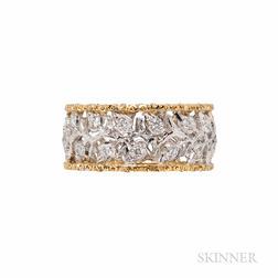 Mario Buccellati 18kt Gold and Diamond Ring