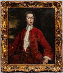 Attributed to James Maubert (British, 1666-1746)      Portrait of a Young Gentleman