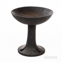 Naga Pedestal Platter