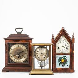 Three Connecticut Shelf Clocks