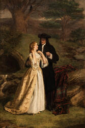 William Powell Frith (British, 1819-1909)      The Troth