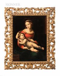 After Raphael (Italian, 1483-1520)      Copy of The Bridgewater Madonna