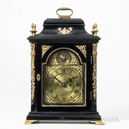 Unsigned English Table Clock