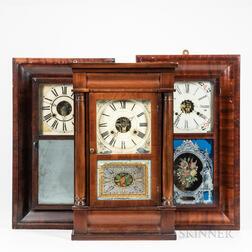 Three Thirty-hour Shelf Clocks
