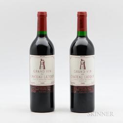 Chateau Latour 1986, 2 bottles