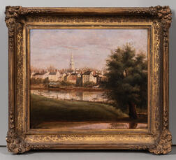 Sylvester Phillip Hodgdon (Maine/Massachusetts, 1830-1906)      View Across North River Salem