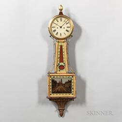 "Massachusetts Striking Patent Timepiece or ""Banjo"" Clock"