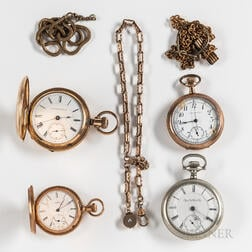 Four American Pocket Watches