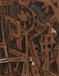 Mirko Basaldella (Italian, 1910-1969)      Abstract