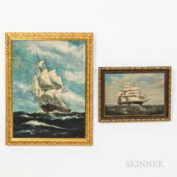 Two Framed Maritime Paintings