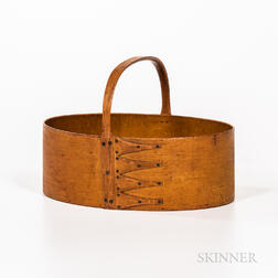 Yellow-painted Oval Shaker Carrier
