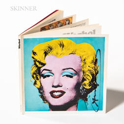 After Andy Warhol (American, 1928-1987)      Exhibition Catalog for Warhol: The Tate Gallery