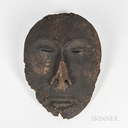 Eskimo Wood Mask
