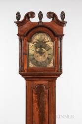 Adam Brant Walnut Tall Clock