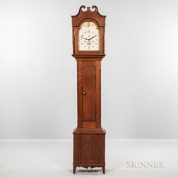Luman Watson Stained Birch Tall Clock