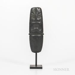 Pre-Columbian Stone Effigy Celt