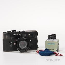 Black Leica M5 Camera