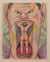 Louis Monza (California/New York/Italy, 1897-1984)      The Ogre #1