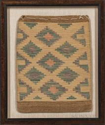 Nez Perce Flat Twined Storage Bag