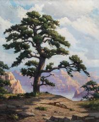 Frank Convers Mathewson (American, 1862-1941)      Morning, Grand Canyon
