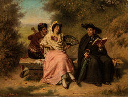 Edwin Thomas Roberts (British, 1840-1917)      Merry & Wise