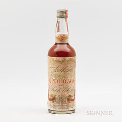 Scotland's Ripe Old Age 27 Years Old, 1 4/5 quart bottle