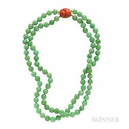Jade Bead Necklace