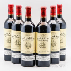 Chateau Malartic Lagraviere 2005, 6 bottles