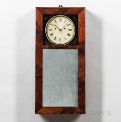 Abiel Chandler Striking Mirror Clock
