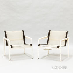 """Two Richard Schultz for Knoll Studios """"1966"""" Armchairs"""