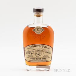 Whistle Pig Boss Hog 12 Years Old, 1 750ml bottle