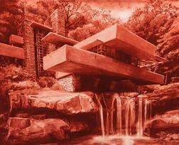 Stephen Bush (Australian, b. 1958)      Falling Water