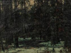 John Fabian Carlson (American, 1875-1947)      Forest Peace