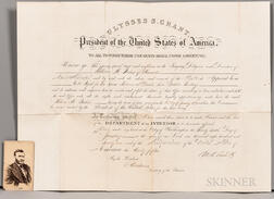 Grant, Ulysses S. (1822-1885) Signed Appointment, Washington, DC, 26 January 1871.