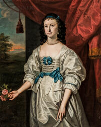 Thomas Hudson (British, 1701-1779)      Portrait of Mrs. Richard Ray (née Elizabeth Lock, 1750-1815)