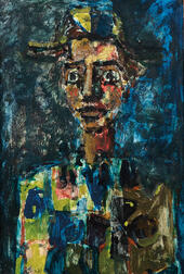 Paul Aïzpiri (French, 1919-2016)      Arlequin