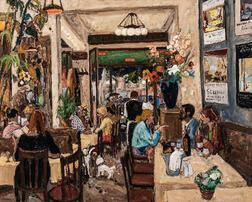Marko Stupar (Yugoslavian/French, b. 1936)      Café Select
