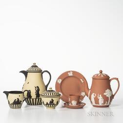 Six Modern Wedgwood Jasper Items