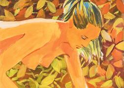 Vladimir Dubossarsky (Russian, b. 1964) and Alexander Vinogradov (Russian, b. 1963)      Untitled (Nude)